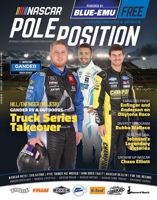 NASCAR Pole Position Kentucky in July 2020