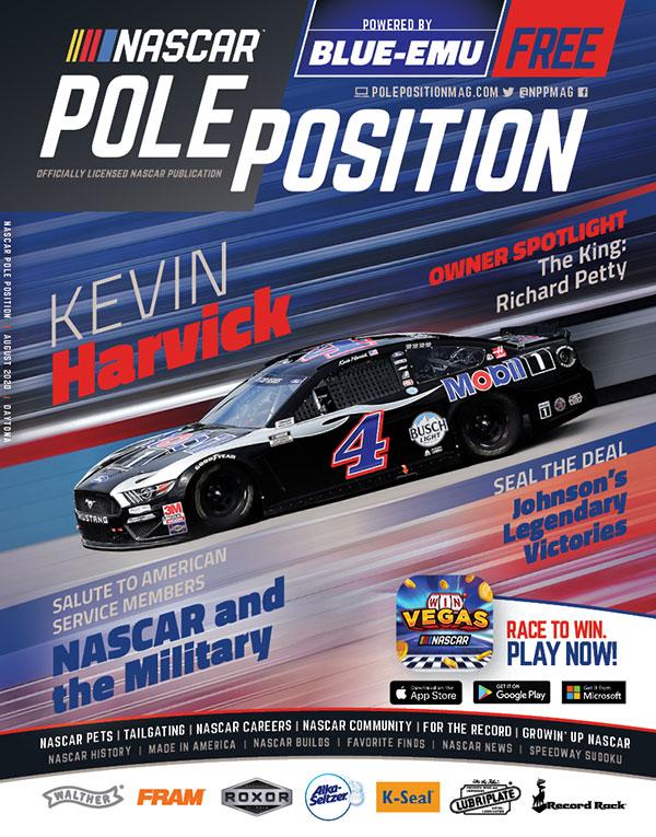 NASCAR Pole Position Daytona in September 2020