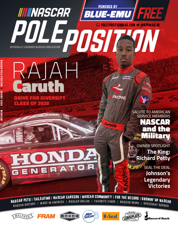 NASCAR Pole Position Michigan in August 2020