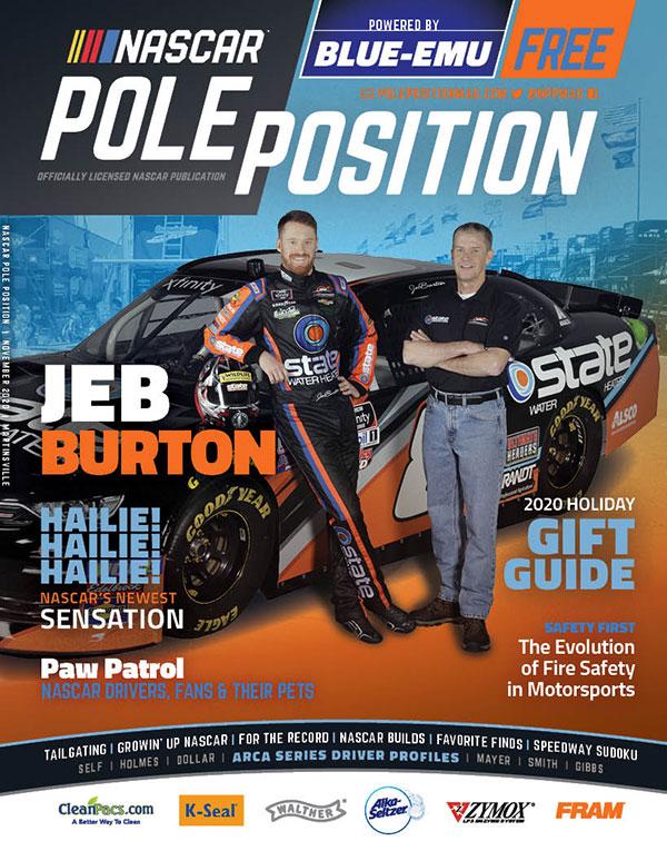 NASCAR Pole Position Martinsville in November 2020