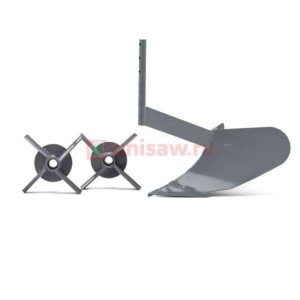 Комплект навесного оборудования (грунтозацепы + окучник) MOKKO/MESO Caiman