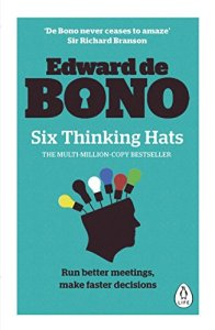 6 thinking hats book cov