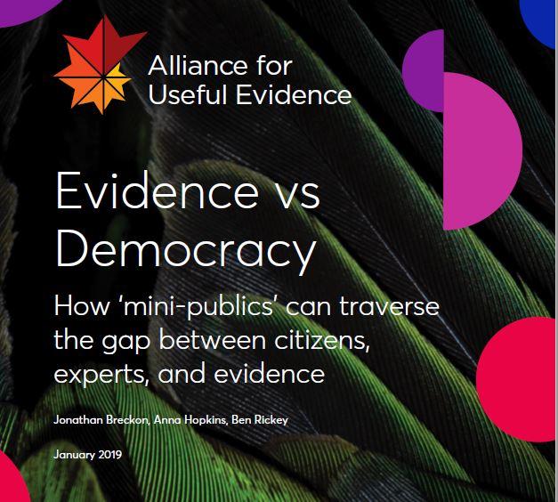 Evidence vs Democracy