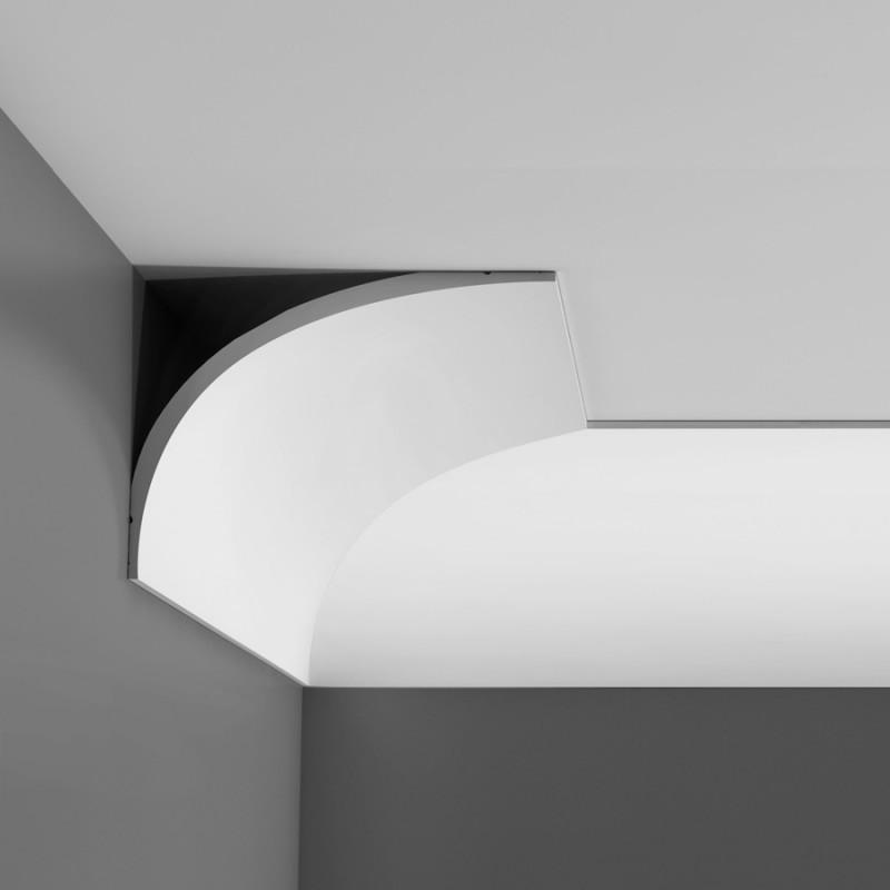 Cornice in polistirolo per pareti e soffitti poliart eps modello p990 poliart eps polistirene - Polistirolo decorativo per pareti ...
