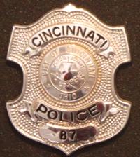 Police Officer Charles Burdsall 's Badge