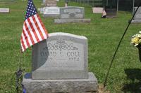 Patrolman Cole's Grave site