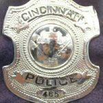 Police Officer William J. Loftin's badge