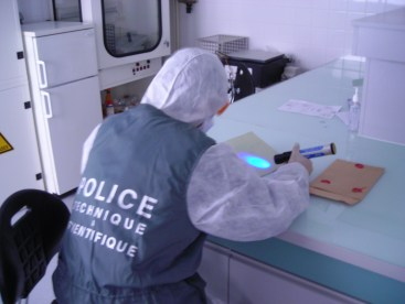 ASPTS police scientifique