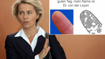 police scientifique empreintes digitales Van-Der-Leyen