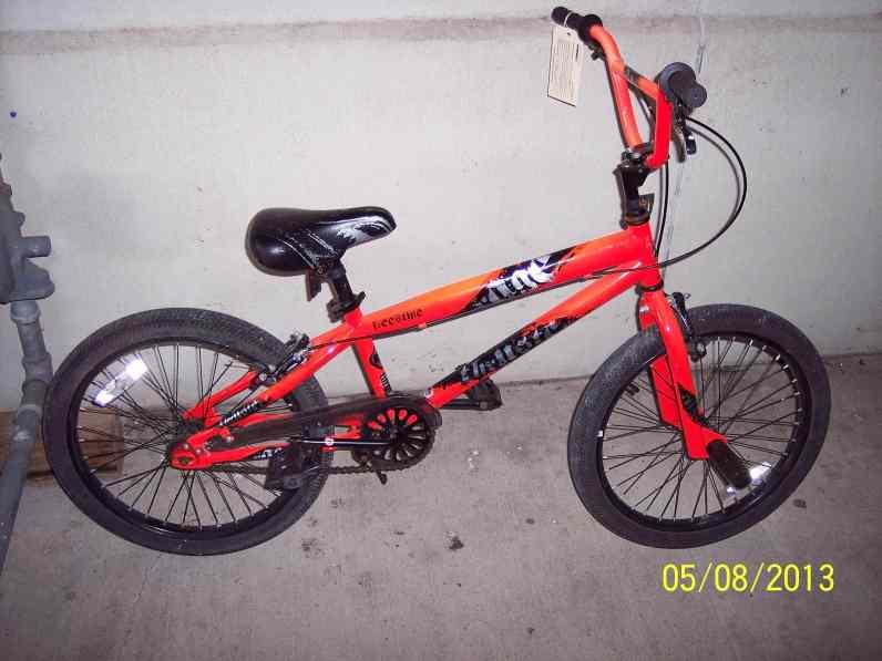 Orange Freestyle Bike