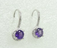 Police Auctions Canada - 925 Silver Diamonds & Amethyst ...