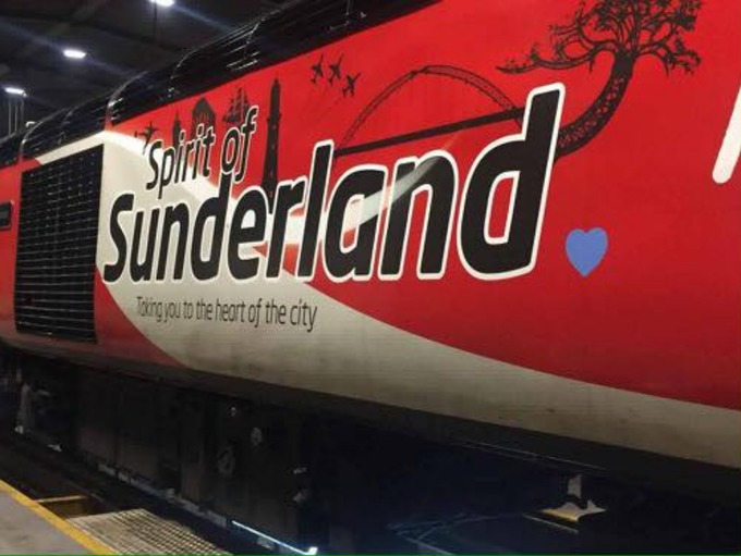 Virgin Trains adds blue heart to pay tribute and remember Bradley Lowery 1