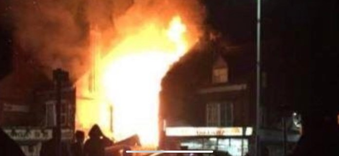 Three men charged with arson and manslaughter after Leicester explosions 1