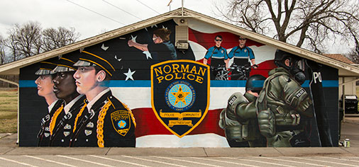 Police Department Murals