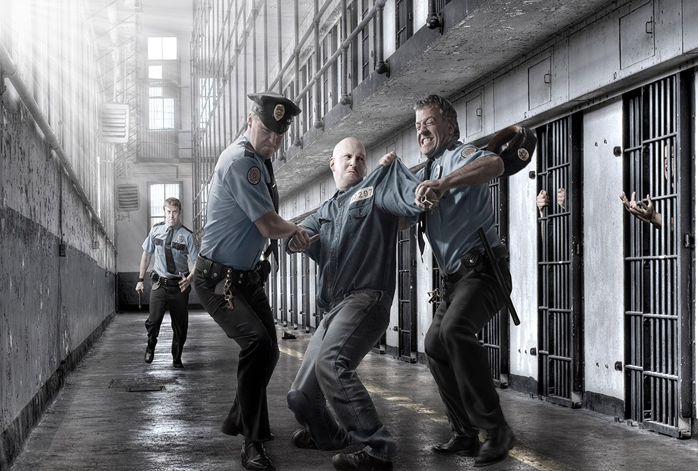 """Correctional Officer Poster """"The Struggle"""""""