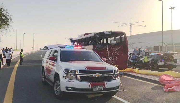 Dubai-Accident