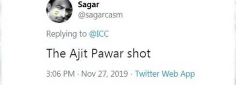 Ajit Pawar Shot