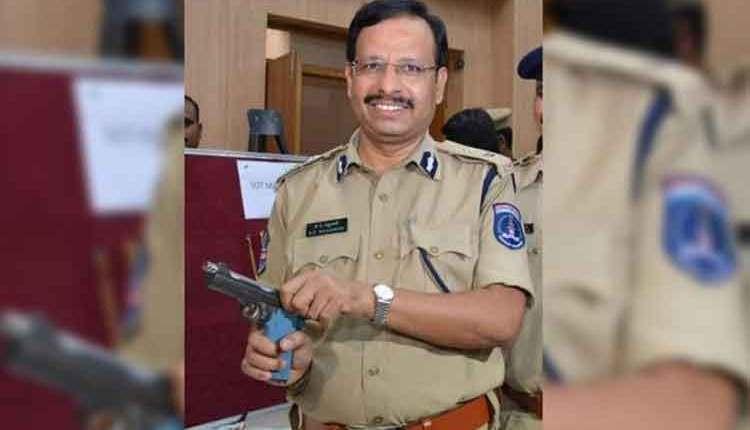 cyberabad police commissioner v c sajjanar