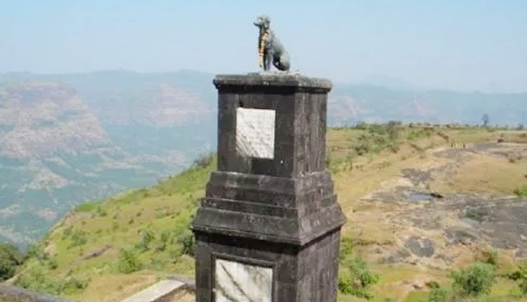 dog Raigad Fort
