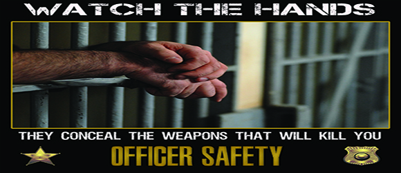 Corrections Officers Safety Poster