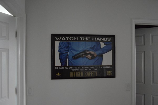 New Police Officer Poster Sizes