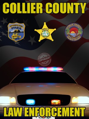 Collier County Florida Law Enforcement Poster