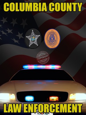 COLUMBIA county florida law enforcement poster