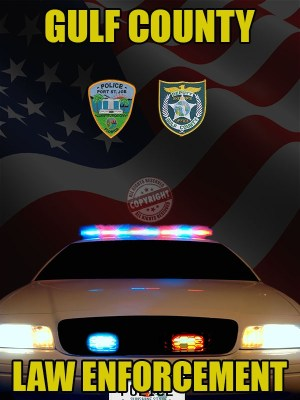 Gulf County Florida Law Enforcement Poster