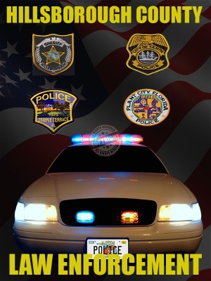 Hillsborough County Florida Law Enforcement Poster