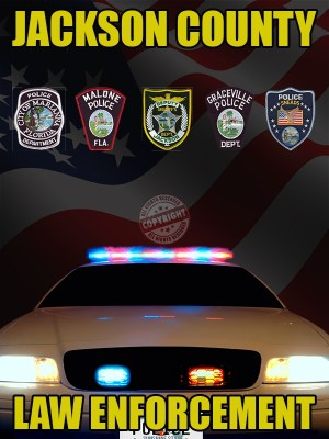 Jackson County Florida Law Enforcement Poster