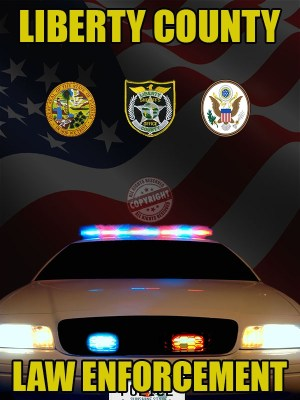 Liberty County Florida Law Enforcement Poster