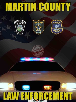 Martin County Florida Law Enforcement Poster