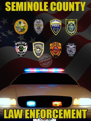 Seminole County Florida Law Enforcement Poster