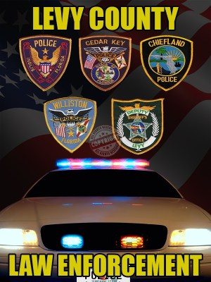 Levy County Florida Law Enforcement Poster