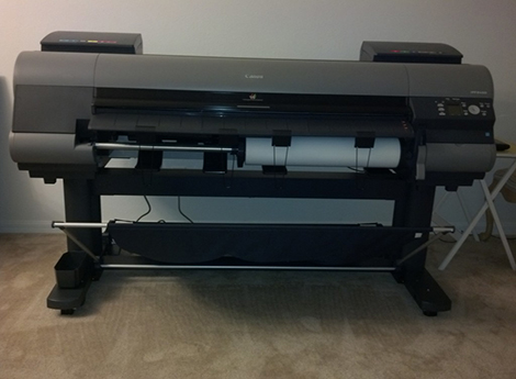 New Canon IPF 8400 Printer