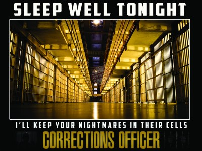 CORRECTIONS OFFICER POSTERS