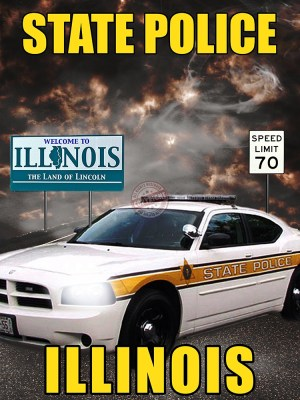illinois state police poster