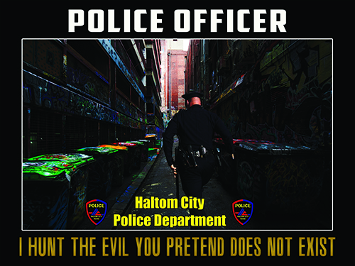 Haltom City Texas Police Department Posters |