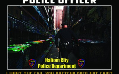 Haltom City Texas Police Department Posters