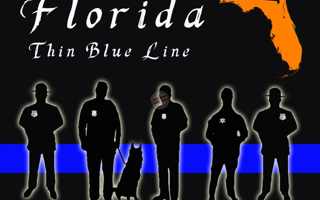 Texas Thin Blue Line Posters