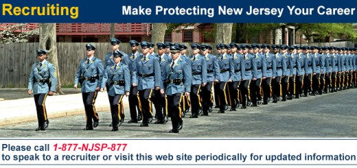 NJ State Police recruitment photograph