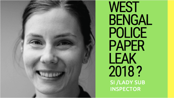 West Bengal Police SI LSI Paper Leak News