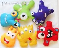 toy art em feltro | Policromata Artes