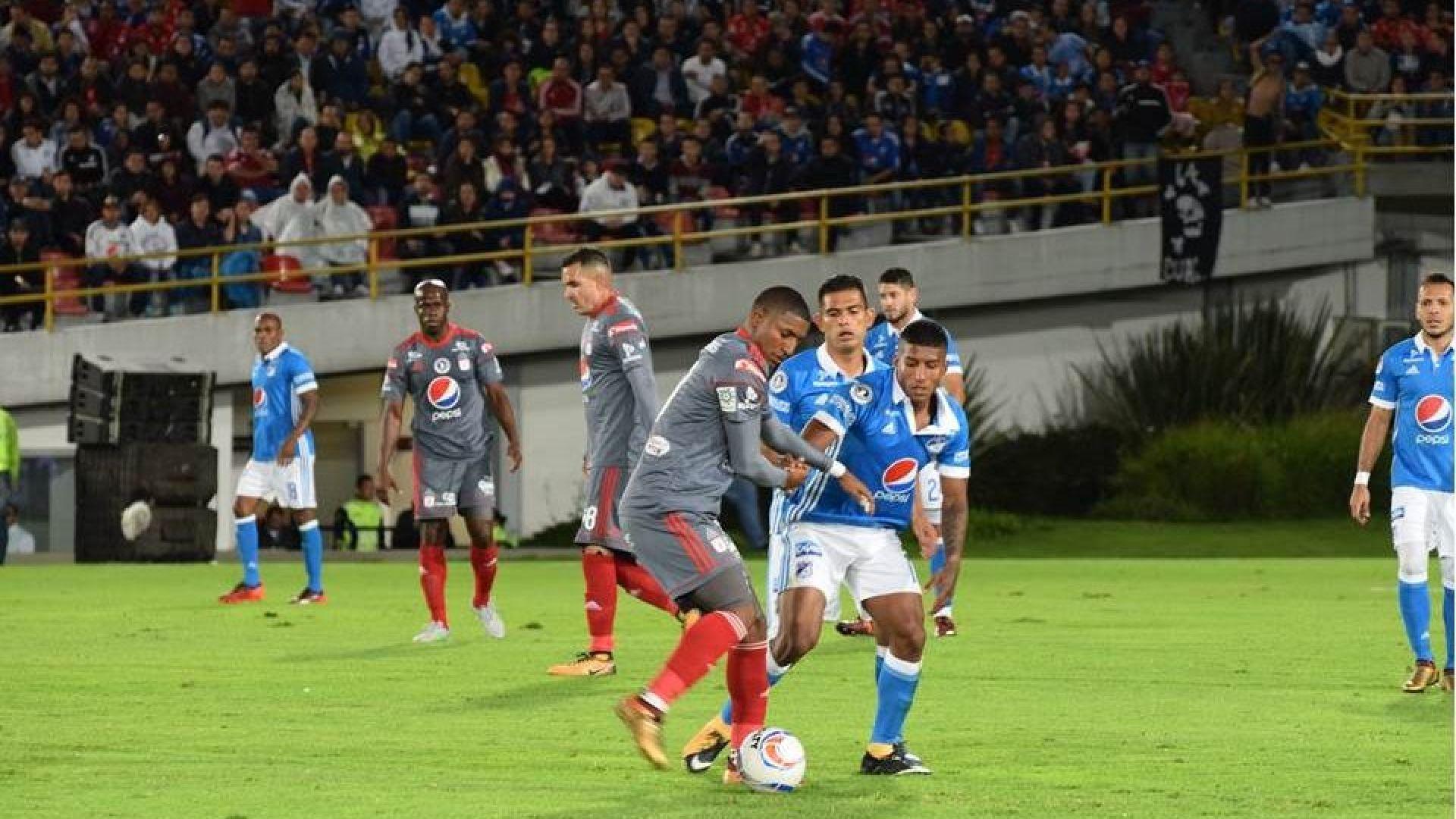 El arranque de la Liga de Fútbol colombiana 2018-II