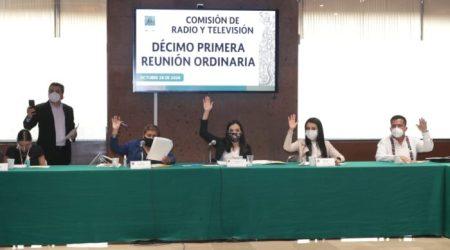 Avala Comisión de Radio y Televisión opinión respecto del PEF 2021