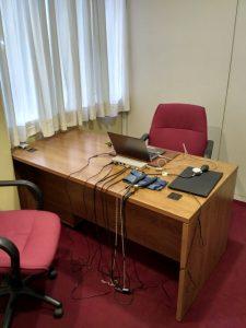 Oficina para pruebas