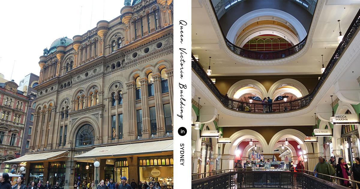 維多利亞女王大廈 Queen Victoria Building