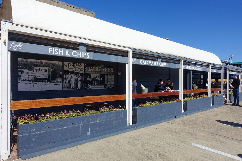 屈臣氏灣 Watsons Bay Doyles Fishermans Wharf