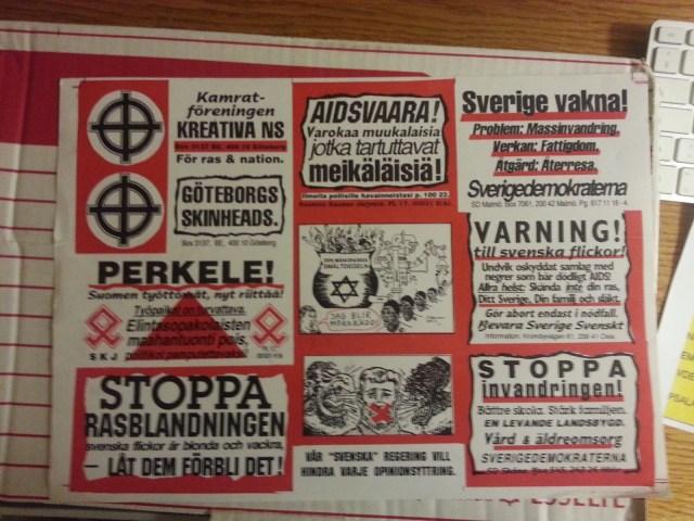 Sverigedemokraternas nazistiska förflutna del 2