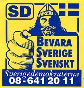 SD vill grundlagsskydda Bevara Sverige Svenskt